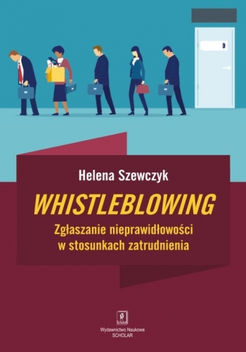 Whistleblowing.